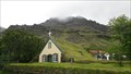 Image for Hofskirkja - last turf church -Hof, Iceland
