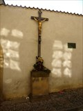 Image for Kríž zaniklého hrbitova pri kostele sv. Jana Krtitele v Obore / Cross from the abolished cemetery of the church of St. John the Baptist in Obora