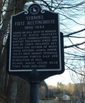 Image for Vernon's First Meetinghouse 1802 - 1844 - Vernon, VT