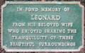 Image for Leonard - Mount Street Gardens, Mount Street, London, UK