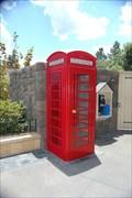 Image for Canada pavilion, EPCOT, Orlando, Red Telephone Box