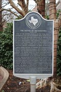 Image for Battle of Nacogdoches Historical Marker -- Texas Revolution, Nacogdoches TX