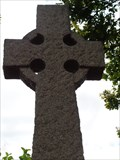 Image for Commemorative Celtic Cross - Monmouth Castle, Gwent, Wales.