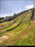 Image for Mammoth ski jump at Certova hora / Mamutí mustek na Certove Hore - Harrachov (North Bohemia)