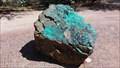 Image for Azurite, Malachite & Chrysacolla Mineral Rock - Pima Air & Space Museum - Tucson, AZ