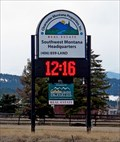Image for Clearwater Properties Inc. Time-Temp Sign - Philipsburg, MT