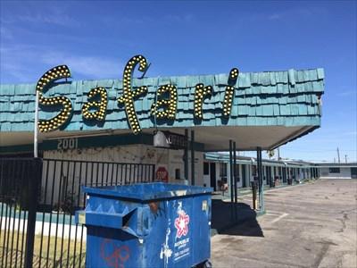 Safari Motel, Pane 1, Las Vegas, Nevada