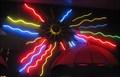 Image for Electric Umbrella - Artistic Neon - Epcot, Florida, USA.