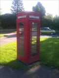 Image for Red Telephone Box - Isham, Northamptonshire