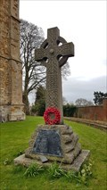 Image for Memorial cross - All Saints - Theddingworth, Leicestershire