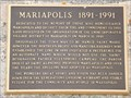 Image for MHM Mariapolis 1891 - 1991