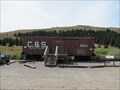 Image for Colorado and Southern Boxcar #8311 - Boreas Pass, Colorado