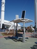 Image for Solar Powered Bench - Kennedy Space Center