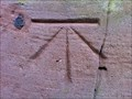 Image for Cut Benchmark with Bolt on St Mary's Church, Sherriffhales, Shropshire