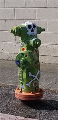 Image for Day of the Dead Hydrant - Brisbane, CA