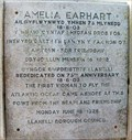 Image for Amelia Earhart - Burry Port Harbour, Carmarthenshire, Wales.