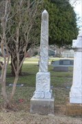 Image for James Russel Washington - Fairview Cemetery - Gainesville, TX