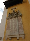 Image for Combined World War Memorial at St. Sebastian Church, Falkenstein - BY / Germany