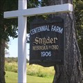 Image for Snyder Century Farm, Edon, Ohio