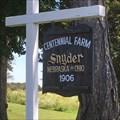 Image for Snyder Century Farm, Edon, Ohio