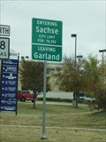 Image for Sachse TX -- Pop. 19,392