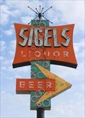 Image for Sigel's Fine Wines & Great Spirits Neon Sign - Dallas, TX
