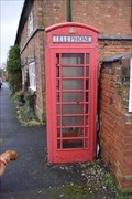 Image for red telephone Box - Churchover, Warwickshire, CV23 0EW