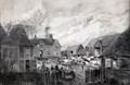 "Image for ""Farmhouse, Offley"" - Samuel Lucas (1865) & ""Sixteenth Century Dovecote Offley"" – Davina Cheek - Westbury Farm, School Lane, Great Offley, Herts, UK"