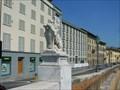 Image for Ponte Solferino Lion - Pisa, Italy