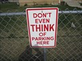 Image for DON'T EVEN THINK OF PARKING HERE - Sandy,  Utah