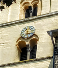 Image for Church Clock St. Arnulf - Nickenich, Rhineland-Palatinate, Germany