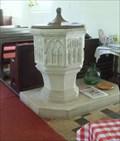 Image for Baptismal Font, All Saints Church, Church Lane, Little Totham, Essex. CM9 8LU