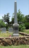 Image for James N. Stuart Obelist - Palo Pinto County, TX