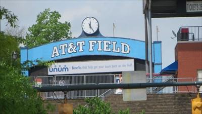 veritas vita visited AT&T Field, Chattanooga