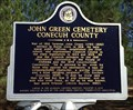 Image for John Green Cemetery - Burnt Corn, AL