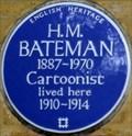 Image for H M Bateman - Nightingale Lane, London, UK