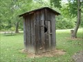 Image for Barkcamp State Park privy - Belmont Co., Ohio