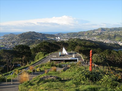 Mt Victoria Matairangi Lookout Wellington New Zealand Maori