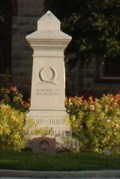 Image for Caldwell Co. CSA Memorial -- Lockhart TX