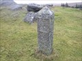 Image for PCWW Boundary Stone, near Burrator, Dartmoor.