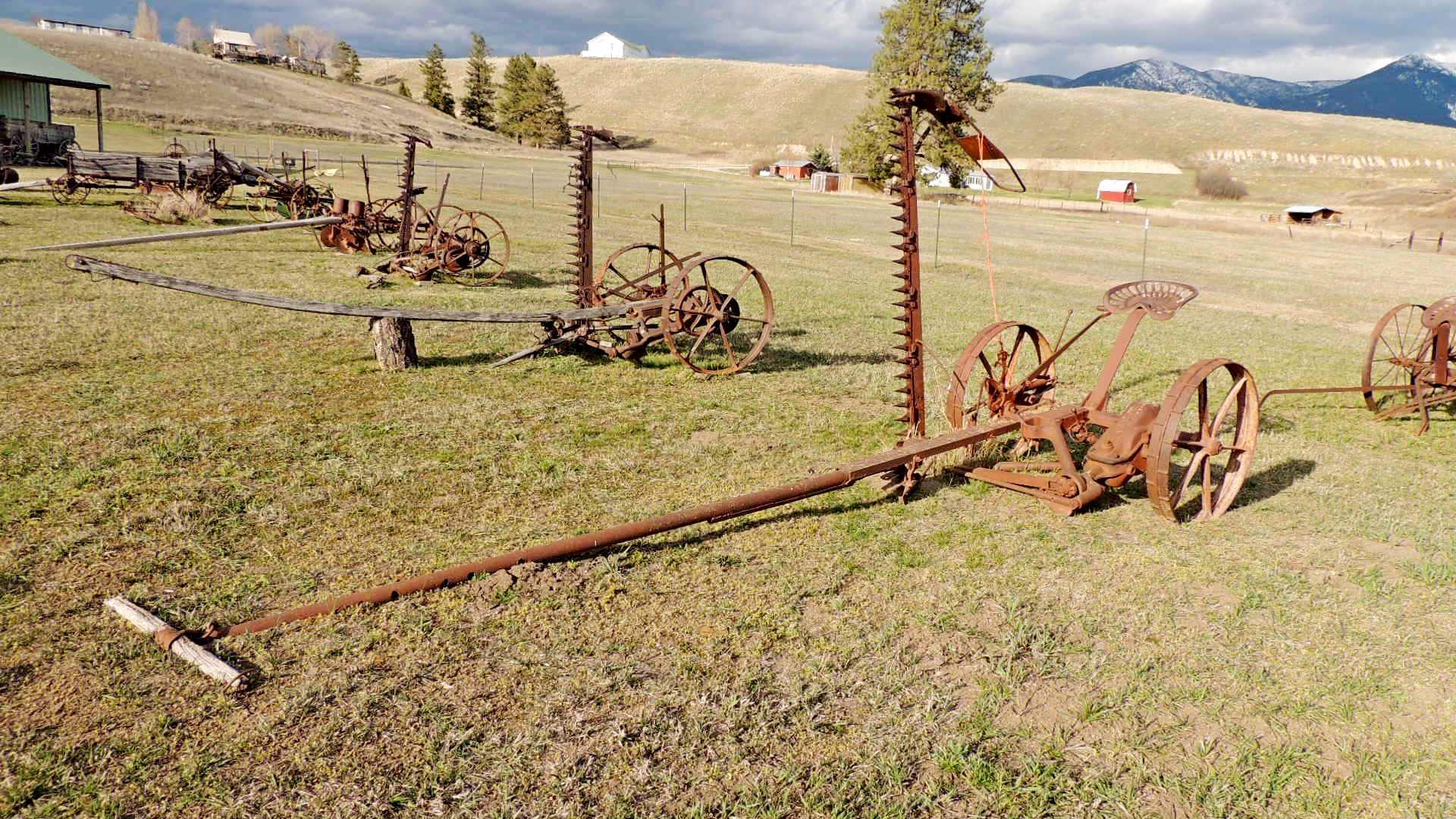 Deering Harvester Company : Mccormick deering sickle mower eureka mt old