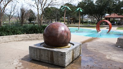Kugel Ball at Hermann Park. Houston, TX