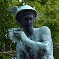 Image for Hermes, Greek God and Asteroid 69230 Hermes - Potsdam, Germany