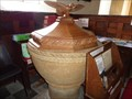Image for Ancient Font - St Nicholas Church - Looe, Cornwall, UK.