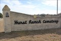 Image for Hurst Ranch Cemetery -- West of Evant TX