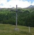 Image for Wooden Cross near Triftalp - Saas-Grund, VS, Switzerland