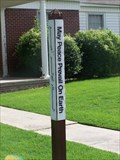 Image for Peace Pole at The Methodist Church - Ridgely, TN