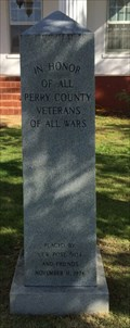 Image for Perry County Veterans Memorial - Marion, AL