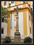 Image for Cross at the Church of the Purification of Virgin Mary (Kostel Ocištování Panny Marie) - Dub nad Moravou, Czech Republic