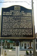 Image for FIRST - seat of justice & territorial judge for Marion County, AL